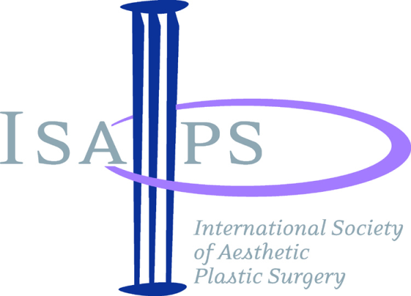 International Soceity of Aesthetic Plastic Surgery Logo